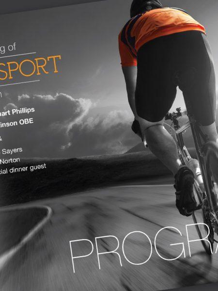 programme cover design