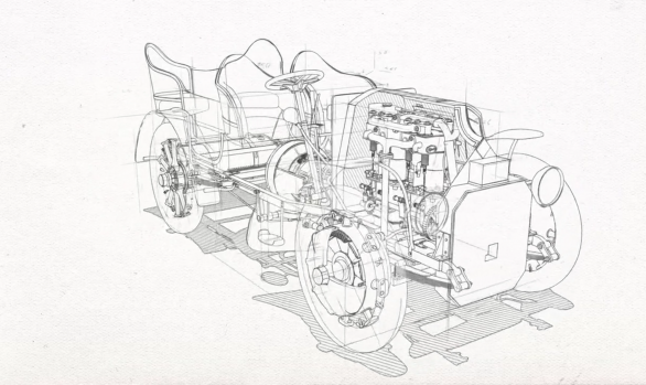 Porsche Museum animation