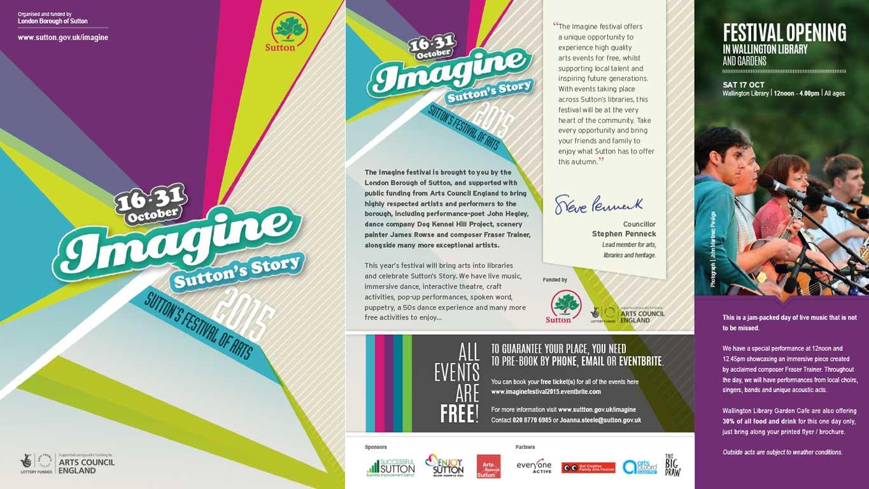 event leaflet design