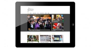 Web design ipad