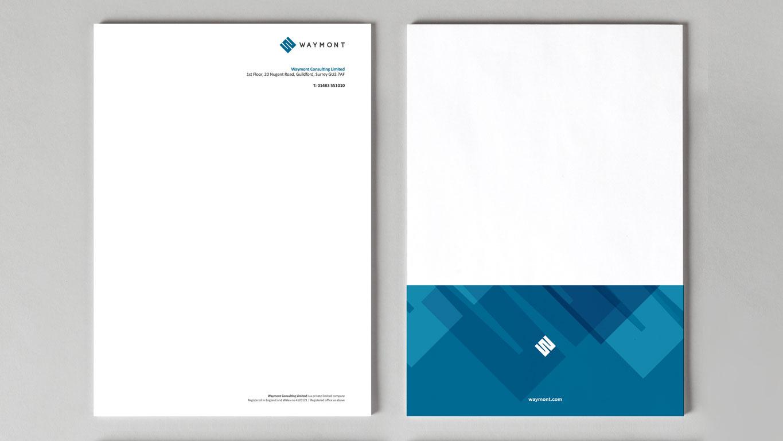 brand identity design stationery