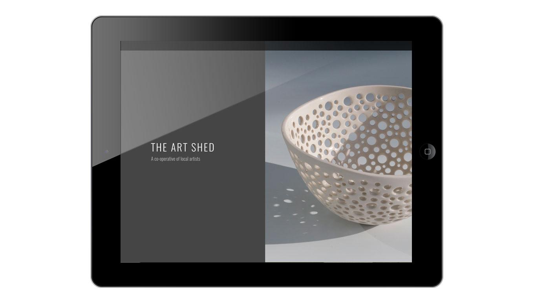 web design portrait view