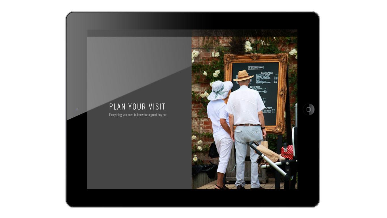 responsive web design ipad