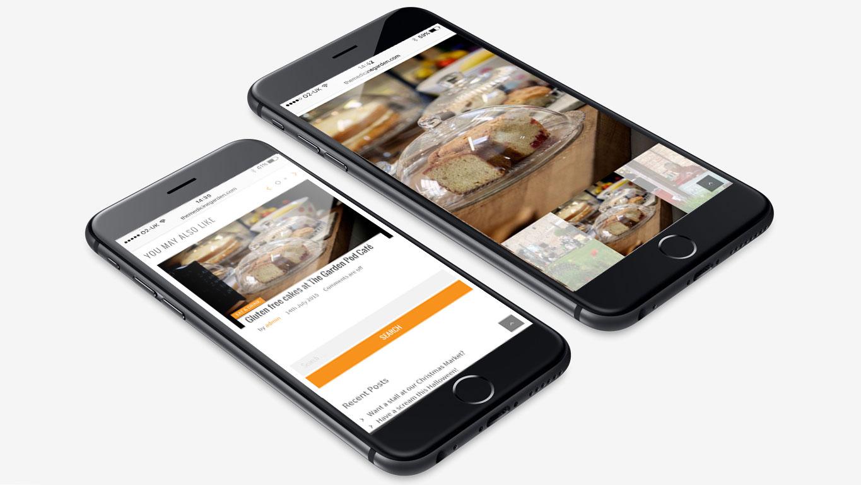 responsive web design iphone
