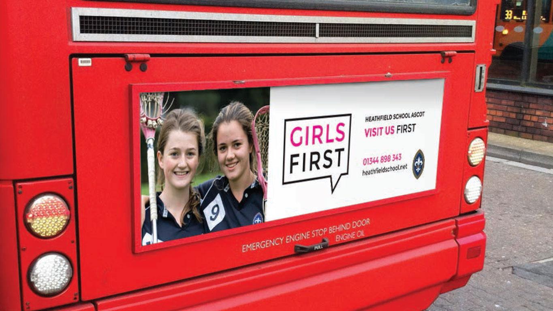 Bus Banner advertising