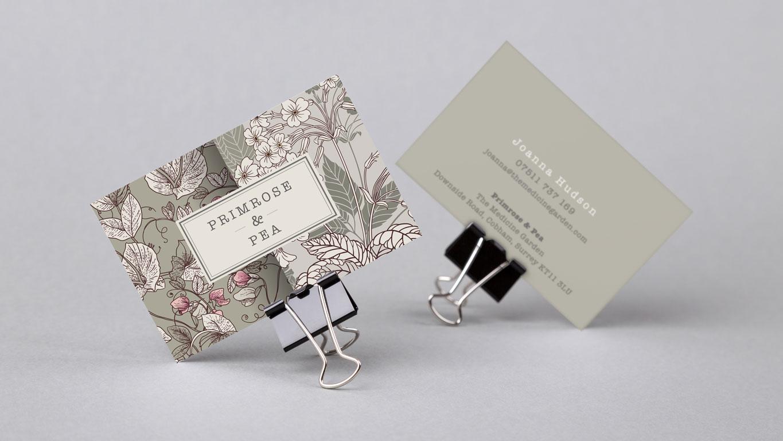Retail design business card