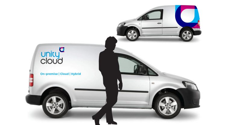 logo design on vehicles