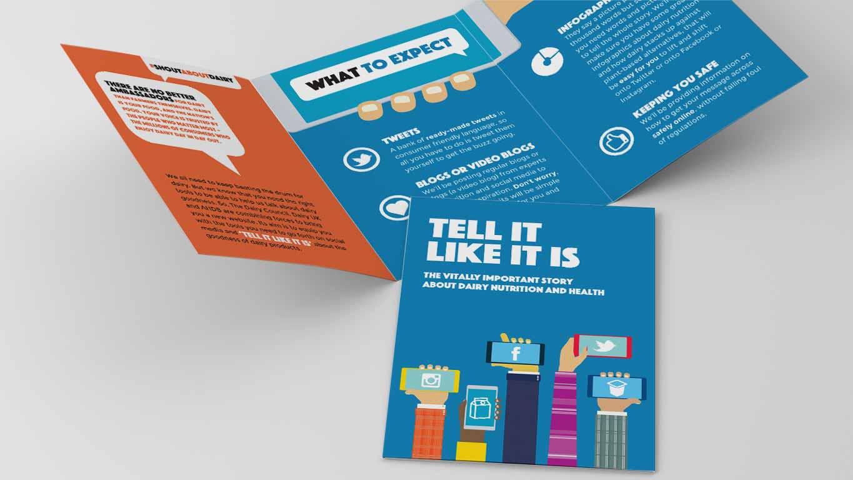 campaign leaflet design