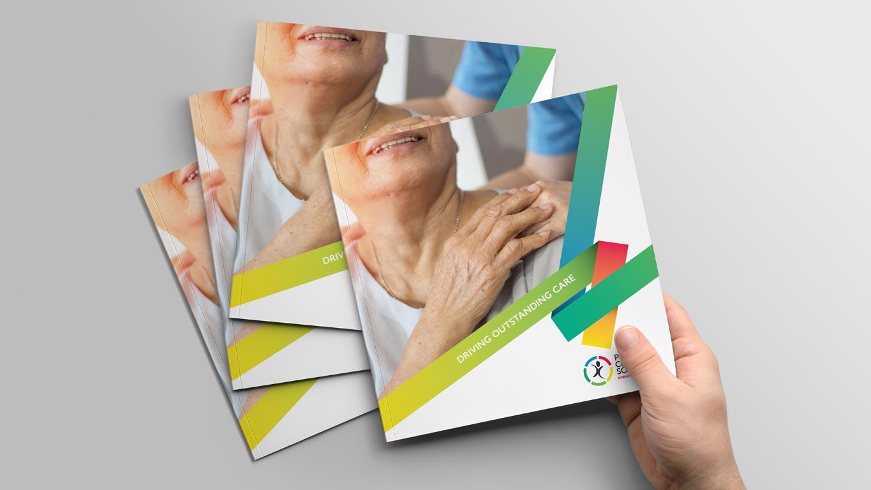 Care brochure design