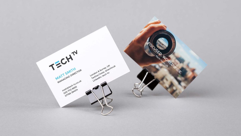 Brand identity business cards