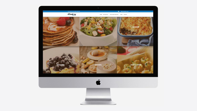 Industry website recipes