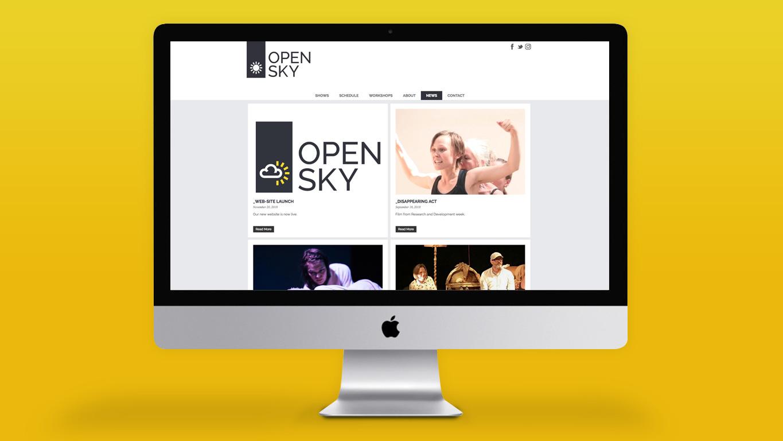 Arts website design news