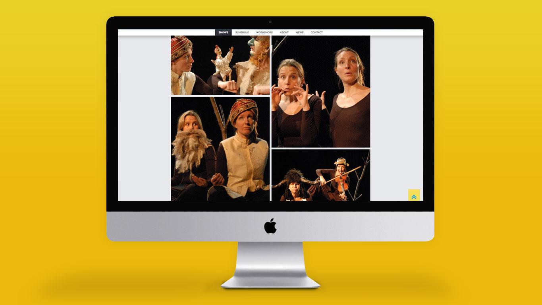Arts website design images