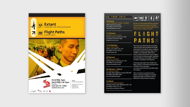 show braille leaflet front