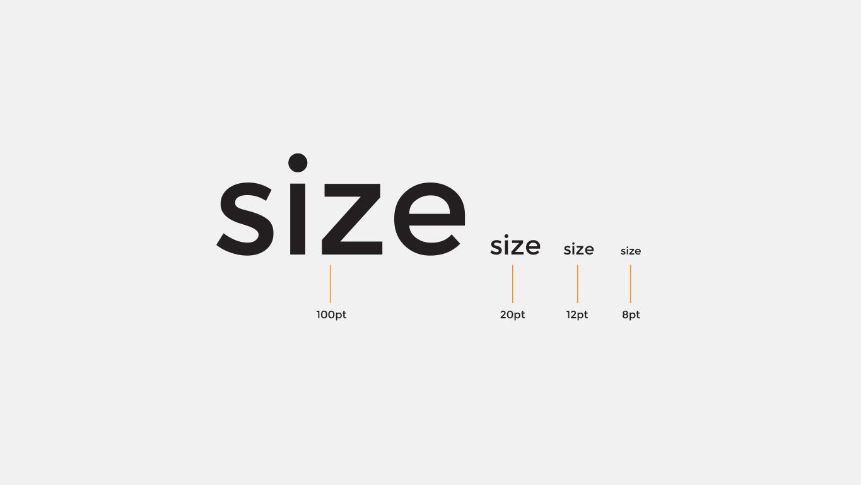Typography Size