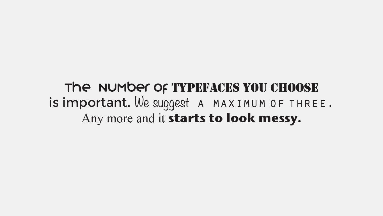Typography typeface