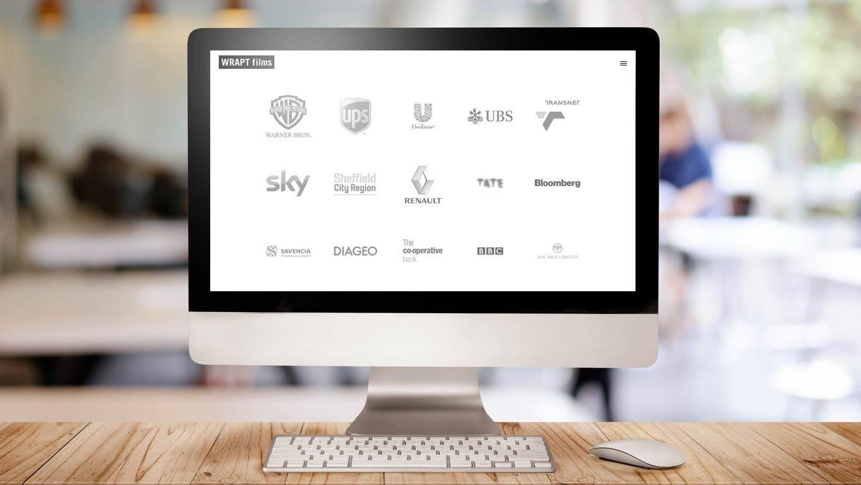 production company website logos