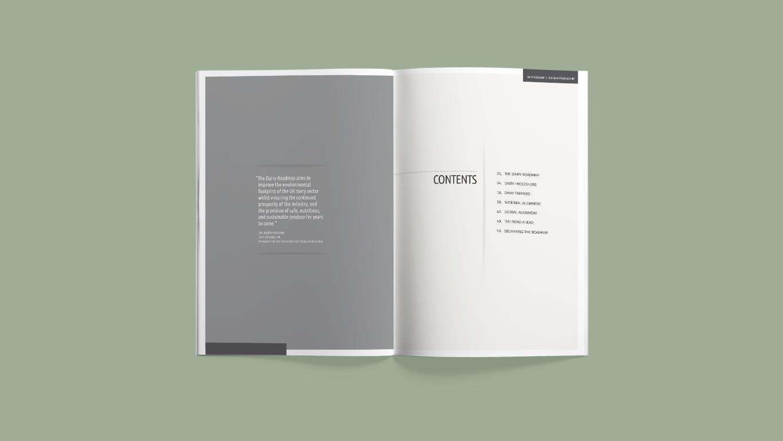 report design contents visual