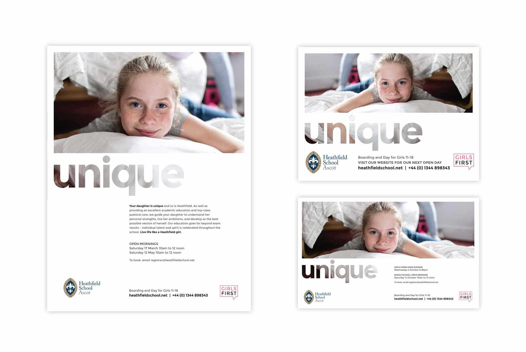 advertising campaign design flexibility