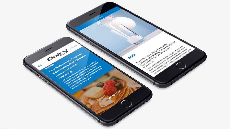Industry website design - responsive design
