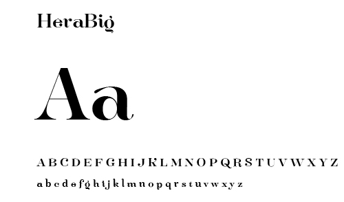 financial - font