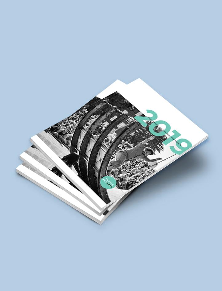 design agency Surrey annual review design
