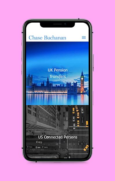 web design mobile view