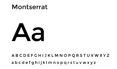 financial services rebrand - typeface