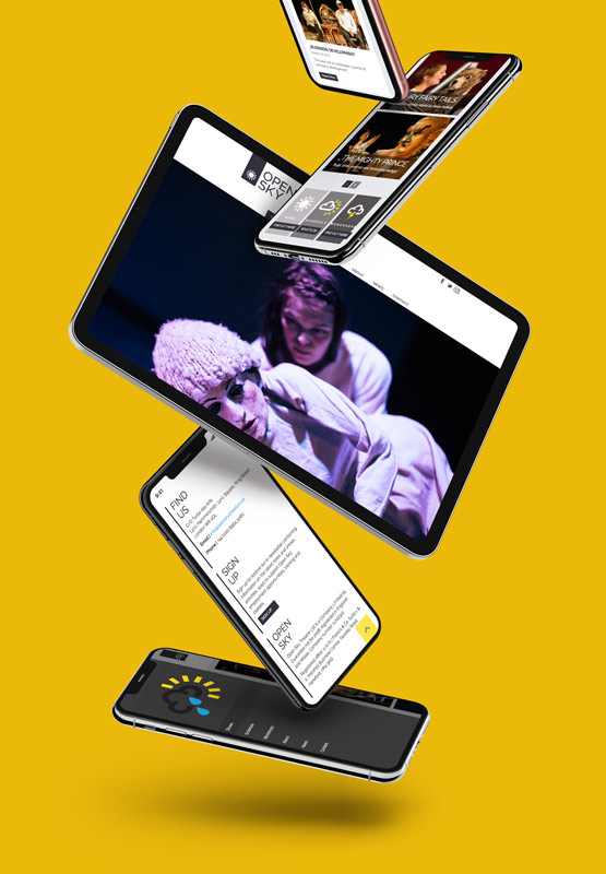 graphic design web site