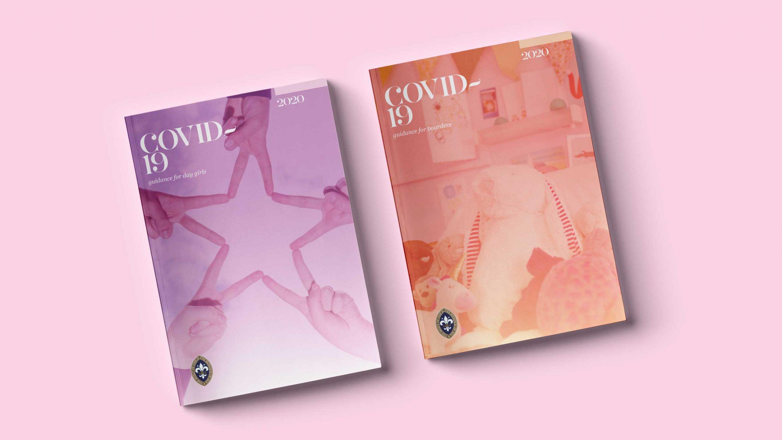 Covid brochure design