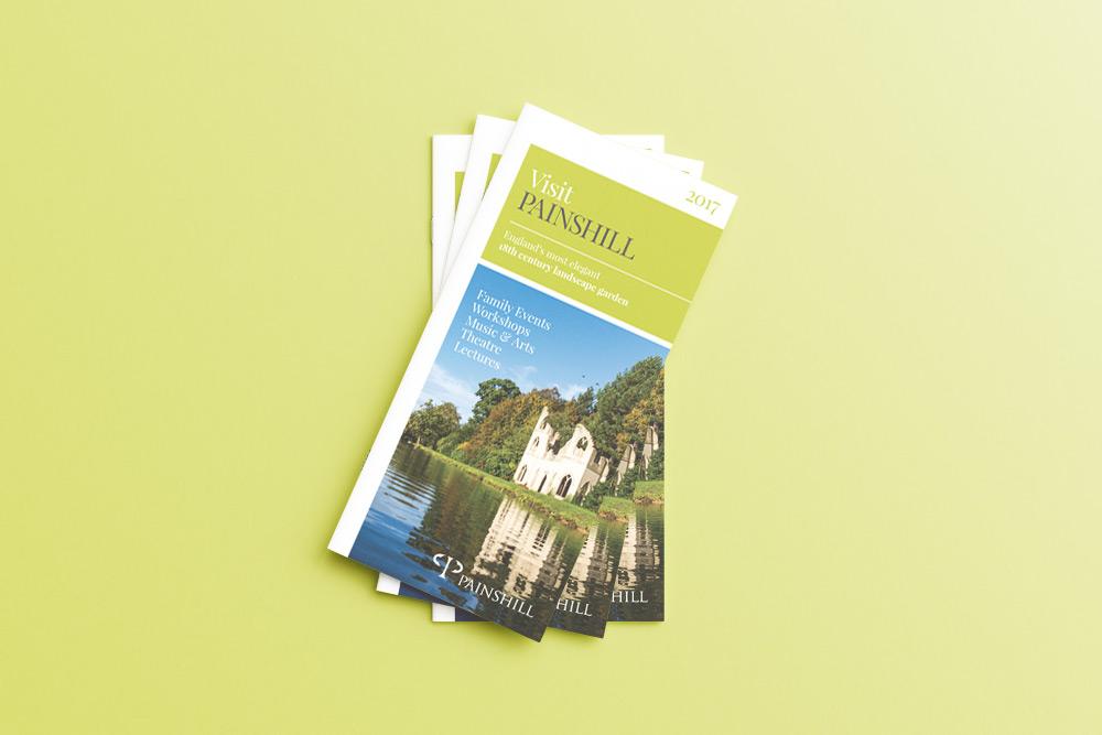 Literature design leaflet